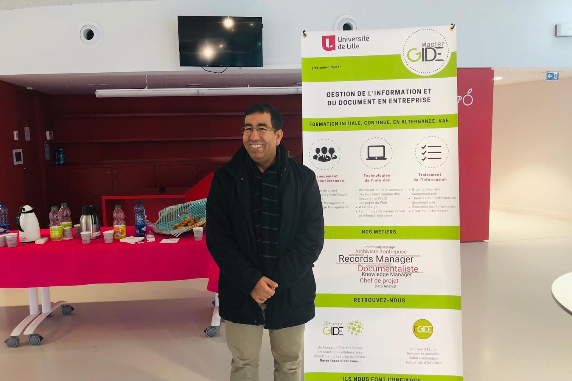 Ismail Timimi à la journée EGIDE'19