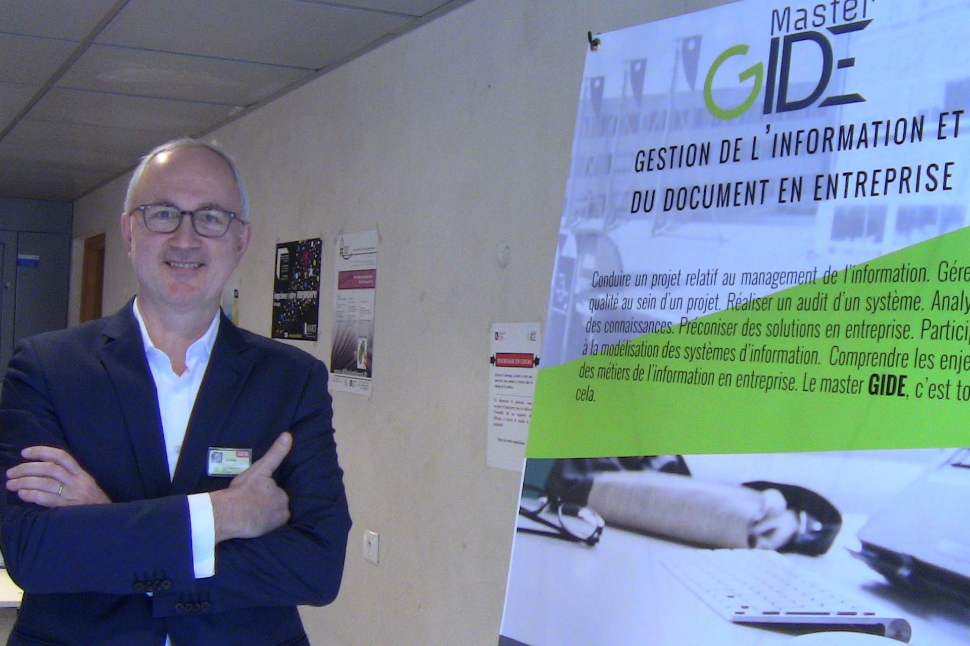 Sylvain Hudelot à la journée EGIDE'16